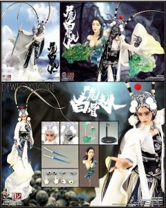 [Pre-order] 303TOYS X OUZHIXIANG Chinese Legend Series 国风传奇 1/6 Scale Action Figure - GF009 Lady White Bone 尸魔白骨夫人 (Exclusive Deluxe Version)